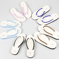 Free shipping slippers couple male and female models flops beach sandals and slippers dragging S115