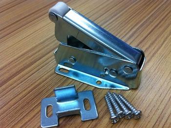 The cabinet rebound spring touch beads door lock catch type V rebound trunk door hinge mini hook system