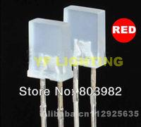(CE&Rosh)2x5x7mm rectangle RED diffused leds 1.8-2.2V 400-600MCD indicator LED DIODE