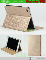 free shipping  (1pcs/lot)ipadmini ipad2 3 mini ipad4 Korean mini-shell protective sleeve slim with sleep