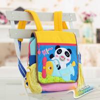 Free Shipping Sallei toy rabbit backpack kindergarten school bag child cartoon backpack
