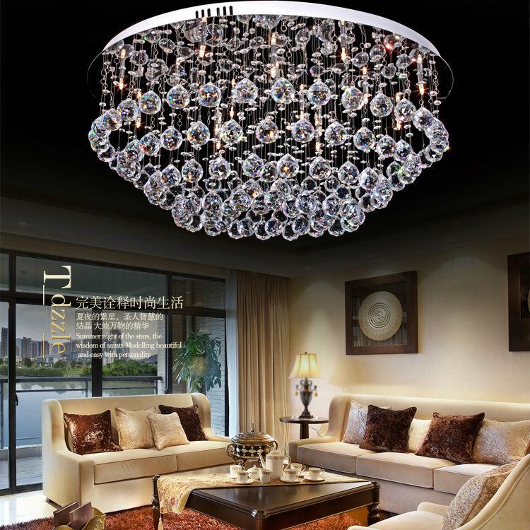 Versandkosten neuen moderne kronleuchter licht kristall lampe innenbeleuchtung Heimwerker 9068