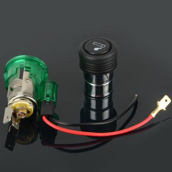 New 12V illuminated Car Cigarette Cigar Light Lighter Accessory Socket Power G0117