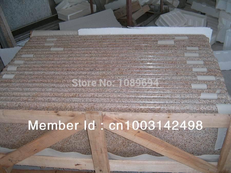G682 granite counter top,G682 sunset yellow granite, G682 slab(China (Mainland))