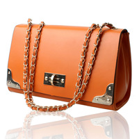 2013 small plaid chain bag candy color vintage shoulder bag cross-body women's handbag