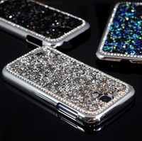 For Galaxy S4 Luxury Bling 3D Rhinestone Diamond Glitter Hard Back Case Cover For Samsung Galaxy S4