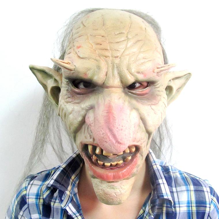 Demons Movie Mask Latex Demon Mask Big Nose Mask