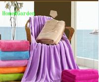 Big House Dual Coral Fleece Bedding Home Double Villus Blanket Bedrug Wincey Casual Picnic Blankets Carpet 2F04C057