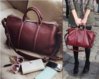 Mushroom 2013 spring color block women's handbag messenger bag women's bag