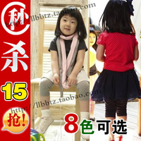 Children's clothing female child summer 2013 baby legging child trousers knee-length b1271 capris pants