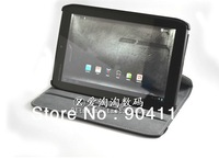 "360 Degree Rotary PU Leather Case Stand Cover For Motorola Xoom 2 8.2"" Tablet PC, Free Shipping"