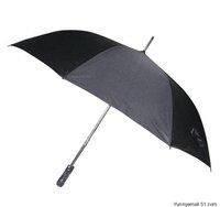 Super suction head golf umbrella long umbrella against the wind, rain and shine double umbrella, umbrella business umbrella