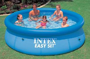 Intex56930 12 disgusts pool family swimming pool inflatable pool 366 91cm(China (Mainland))