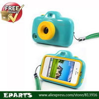 Hot!  New Arrivel Lovely Filter Lens Kids Toy Camera for iPhone 4 4S Hard Cover, Cute Style, High Quality, Free Shipping