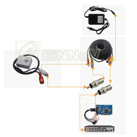 Hidden Convert Security CCTV Microphone Mic for CCTV Camera DVR System CM03