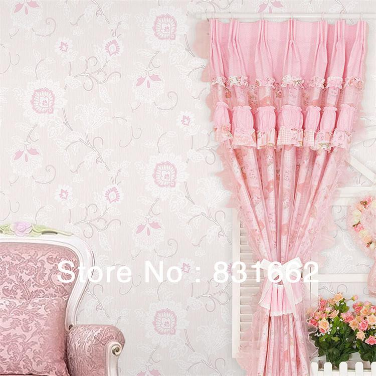 Online kopen wholesale roze glitter behang uit china roze glitter behang groothandel - Wallpapers voor kamer ...