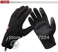 free shipping Brand:Miles Away GH1001 Men Women Outdoor Winter Fleece Gloves Hiking, biking travel Driving  car Size:S M L XL