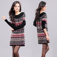 2013 maternity clothing autumn maternity top sweater fashion sweater autumn maternity one-piece dress