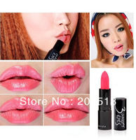 6pcs/ lot Free Shipping Women's Cosmetics Brand Makeup Lipstick 14 Colors Optional Make Up Lip Stick Gift for Ladies