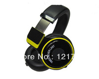 Hot Limited version Pro Headphone,black/yellow  PRO  Professional DJ Pro Studio Headphone yellow / Black Free Shipping by DHL/EM