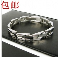 Star style fashion stereo male titanium bracelet Men bracelet male accessories jewelry