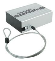 Portable mini car safe box car safe deposit box steel anti-theft strongarmer