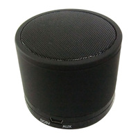 All Black: Small Mini Bluetooth Speaker with Strong Beats Mini Portable Wireless Audio Speaker for Cell Phone Free Shipping