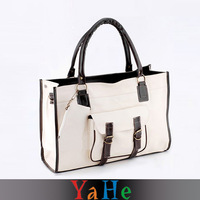 Handmade Patchwork Leather Bags women's leather brand handbags YAHE shoulder bags for women tote bags WB3019