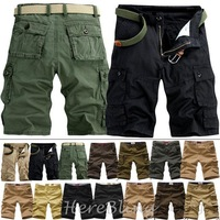 Hot Bermuda Shorts Cargo  for Men Nice Bermuda Casual Cotton Cargo Pockets Beach Shorts for Boys Fashion Sport Short 2013