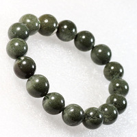 Natural green ghost bracelet lucky crystal