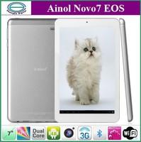 "Ainol Novo7 Eos 3G Tablet PC 7.0"" IPS Android 4.0 Dual Core NS115 1.0 GHz Bluetooth HDMI WCDMA"