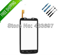 original Front Panel Touch Lens Digitizer Screen PartsFor AT&T Motorola Atrix II 2 MB865 +free tools+Adhesive Tracking no