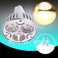 12pcs MR16 GU5.3 PAR20 Warm White 3x3W 12V Home Spotlight LED Spot Light Bulb Lamp 9W