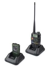 New A1039M Walkie Talkie UHF+VHF 400-520MHz~136-174MHz 7W 256 CH DTMF 1750Hz Tone Radio TH-UVF8D Camouflage