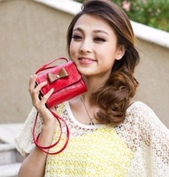 2013mirte , women's bag small cross-body bags fashion bow women's handbag