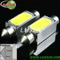 Free shipping   wholesales 2pcs/lot  led car light C5W SV8.5 36MM  high power 1.5W  dome light, car led dome light 1.5W