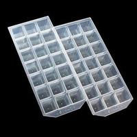 21 shapes ice box ice pattern ice box square ice cube tray