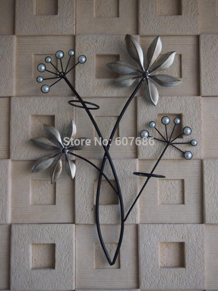 Rustic Metal Tree Branch With Birds Wall Art Hand Forged Antiqued Wall Access