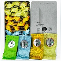 4 Flavors Chinese tieguanyin oolong tea 250g China spring tea with gift package free shipping