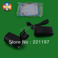 220V 180W small motor counterclockwise brush motor old fashioned household sewing machine motor&controller with belt
