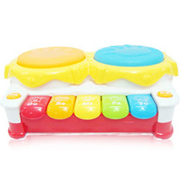 Vip violin electric hand drum music toy child musical instrument music smart early learning toy