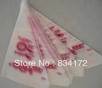 New 100x Disposable Pastry Cake Icing Piping Decorating Bags ----The trumpet
