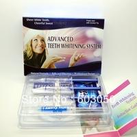 free shipping, advanced teeth whitening system non peroxide teeth whitening home kit  100set/lot