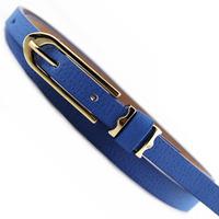 Thin all-match belt female pigskin belt small strap