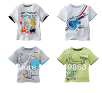 wholesales elephant kids T-shirt boys tee shirts jumping beans t-shirts(18m-5T) 20pcs/lot 4designs free shipping fast delivery
