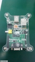 Raspberry acrylic shell compatible expansion board e01-1000c