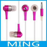 go pro headphones Metal earphone wireless headphone bluetooth headset MP3 Phone Flat daft punk samsung earphones