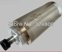 GOOD product 3kw 220v 400hz 24000rpm ER20chuck 12A 105mm diameter water cooling spindle motor CNC machine