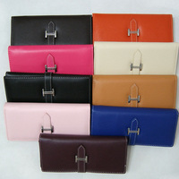 Casual wallet hot-selling women's handbag wallet h iron buckle long litchi design chromophous series