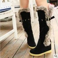 2013 fashion women flats autumn-summer boots elevator snow winter boots free shipping